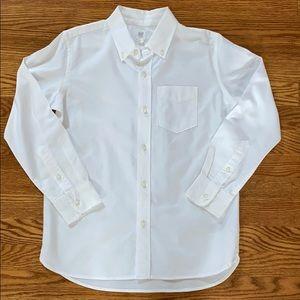 Gap Boys Classic white oxford button-down shirt